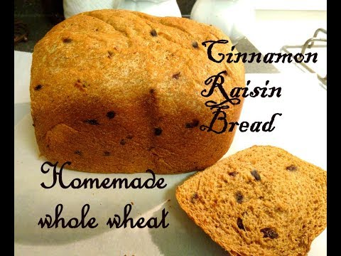 Cinnamon raisin loaf recipe(bread machine recipe)