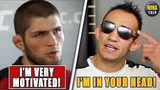 Khabib BREAKS SILENCE on Tony Ferguson fight, Calvillo rips Paige VanZant