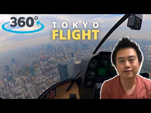 Helicopter Flight Tokyo in 360 Degrees | Made in Tokyo by Paul