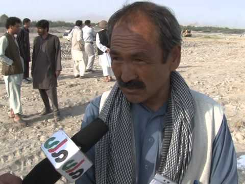 14 Sept 2013 News Report on Taloqan Flood protection Wall funded by RIDF/KFW (1of 2)