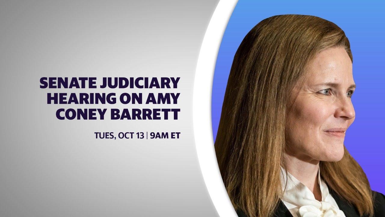 Day 2: Senate Judiciary hearing on Amy Coney Barrett