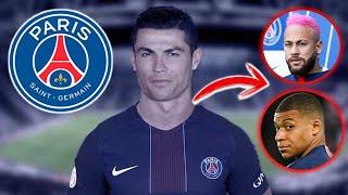BOMBAZO CRISTIANO RONALDO AL PSG France Football Al lado de Neymar y Mbappe