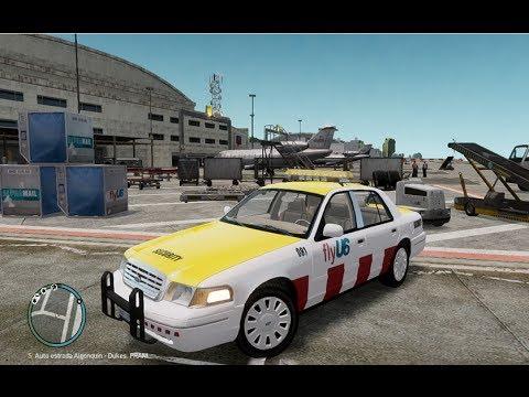 GTA IV: LCPDFR 1.0 - Airport Security Patrol (FlyUs)