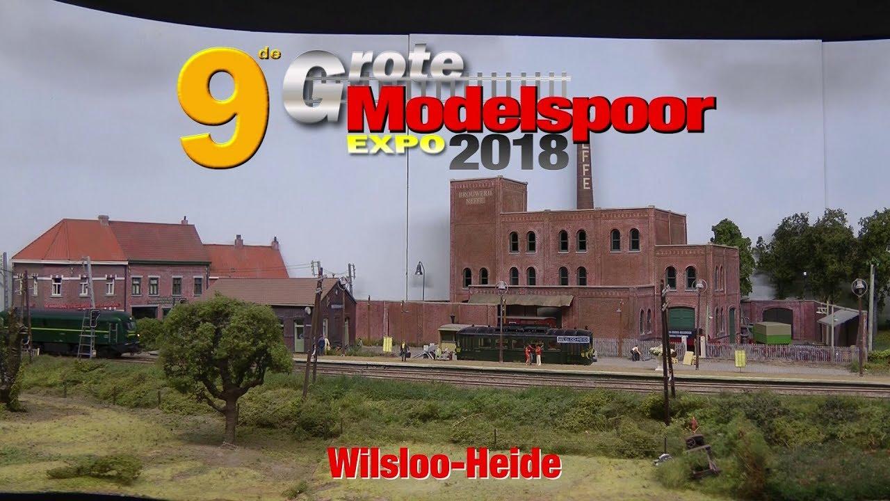 modelspoor expo 2018 wilsloo heide youtubemodelspoor expo 2018 wilsloo heide