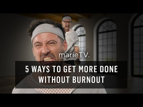 5 Ways To Beat Burnout and Increase Productivity