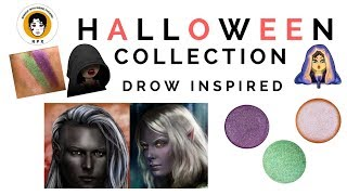 Swatches | First three shades | RPX Halloween Collection 2017 | Indie Makeup