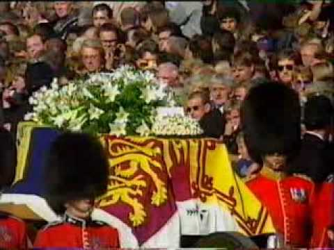 Princess Diana's Funeral Part 9: Buckingham Palace & The Queen