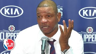 Doc Rivers full press conference | Clippers vs. Lakers | NBA on ESPN