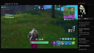 Norsk Fortnite Stream l ej fortnite l Giveaway