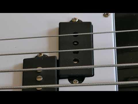Amoon Bass Guitar broken pickup