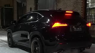 Тюнинг выхлопной системы Lexus NX 2 литра 2016 года