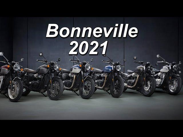 2021 Triumph Bonneville Updates: T100 - Street Twin - T120 - Speedmaster - Bobber