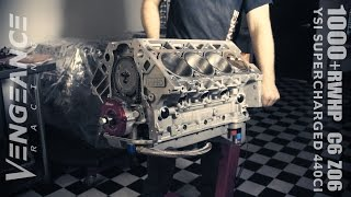 1000+RWHP C6 Z06 - YSI Supercharged RHS 440ci (Build & Beauty) by Vengeance Racing