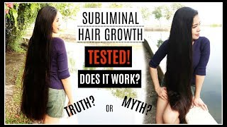 GROW 5 INCHES HAIR OVERNIGHT TESTED+ MY DAD MAKES HAIR GROWTH MUSIC- BEAUTYKLOVE