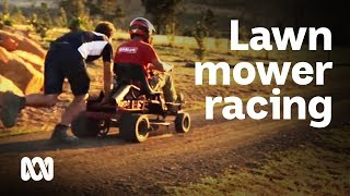 The Bream Creek Bulls: lawn mower racing in country Australia #YourSportStory