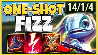 ABUSE INFINITE MOBILITY + DAMAGE! AP NUKE FIZZ CAN 1V9 ANYONE! S10 FIZZ GAMEPLAY - League of Legends