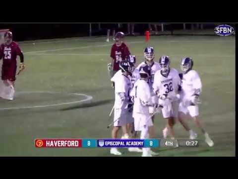 Jackson Tuma | Sophomore Year Lacrosse Highlights (Episcopal Academy 2020)