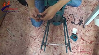 Hướng dẫn lắp đặt máy nghiền bột nước HMBN01