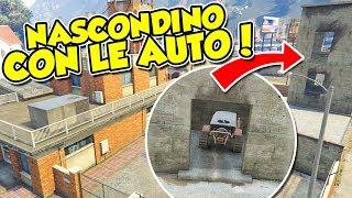 Gta 5 ITA - Nascondino con le auto in città!!
