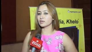 Jwala Gutta Interview by Ehtiram Ali, Sahara Samay Mumbai