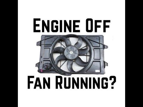 Honda Accord Cooling Fan Stays On Running When Car is Shut Off - Bundys Garage