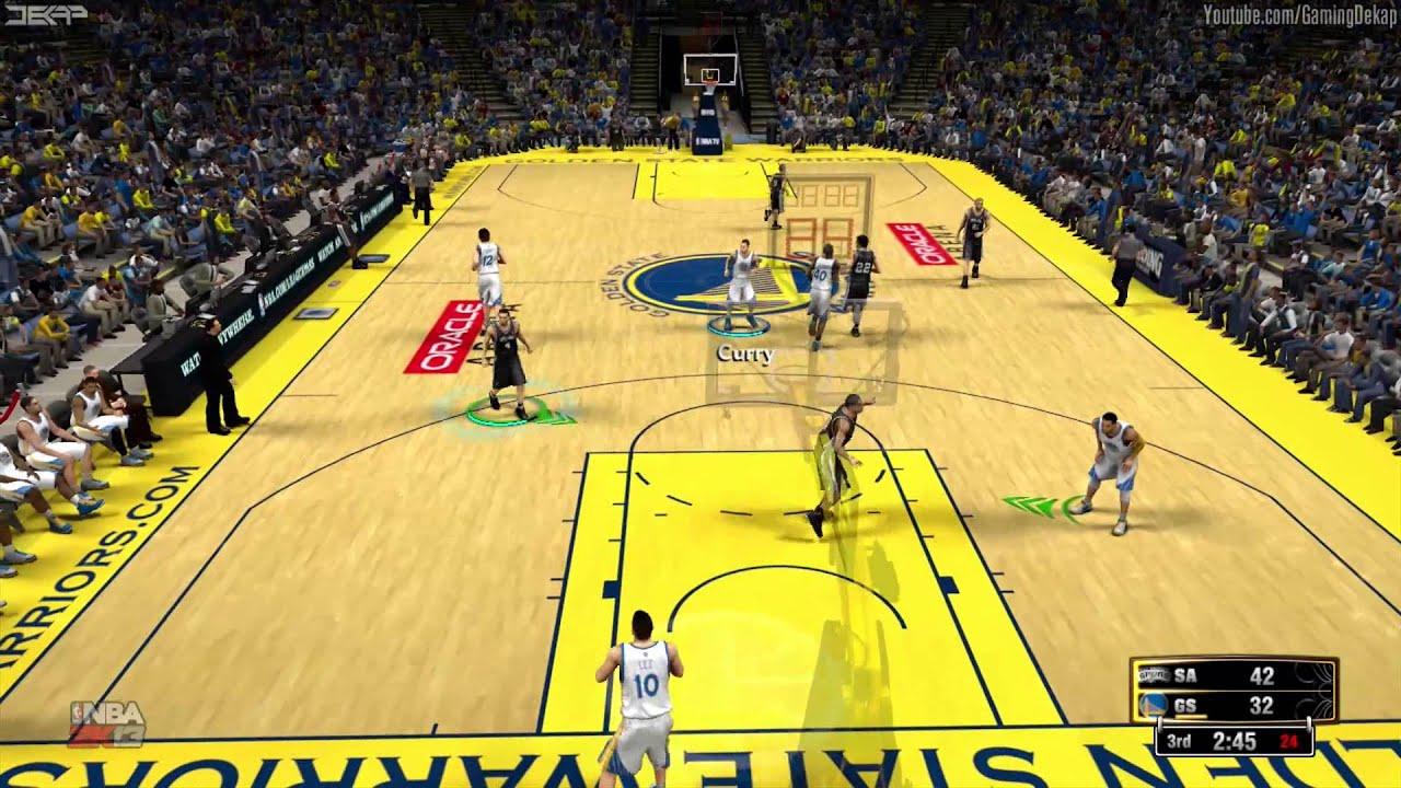 NBA 2K13: Free San Antonio Spurs Vs. Golden State Warriors 7/20/13 ...