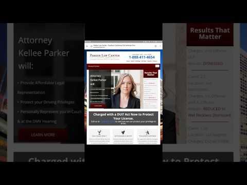 DUI Lawyers in Riverside Ca--Parker Law Center-888-411-4654