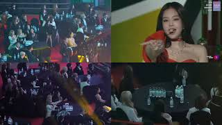 (BLACKPINK,IZONE,MOMOLAND...Mashup)REACTION TO SOLO-JENNIE at Gaon Chart Music Awards 2019