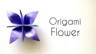 Origami Flower Tutorial - beautiful Paper Flower