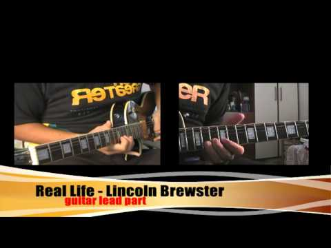 Real Life Lincoln Brewster guitar solo part