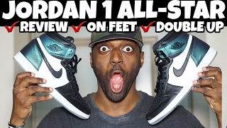 5 HOUR CAMPOUT JORDAN 1 ALL-STAR GOTTA SHINE REVIEW | ON FOOT