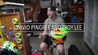 TLD Paint: David Pingree & Troy Lee