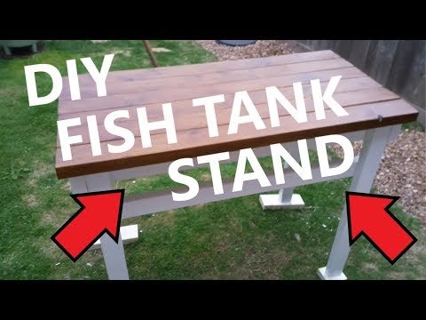 How To Build: DIY Rustic Style Fish Tank Stand