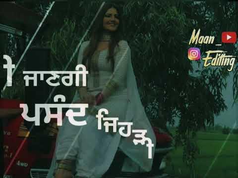 Deke Label Black Wish Kita Goriye | Punjabi WhatsApp Status Video