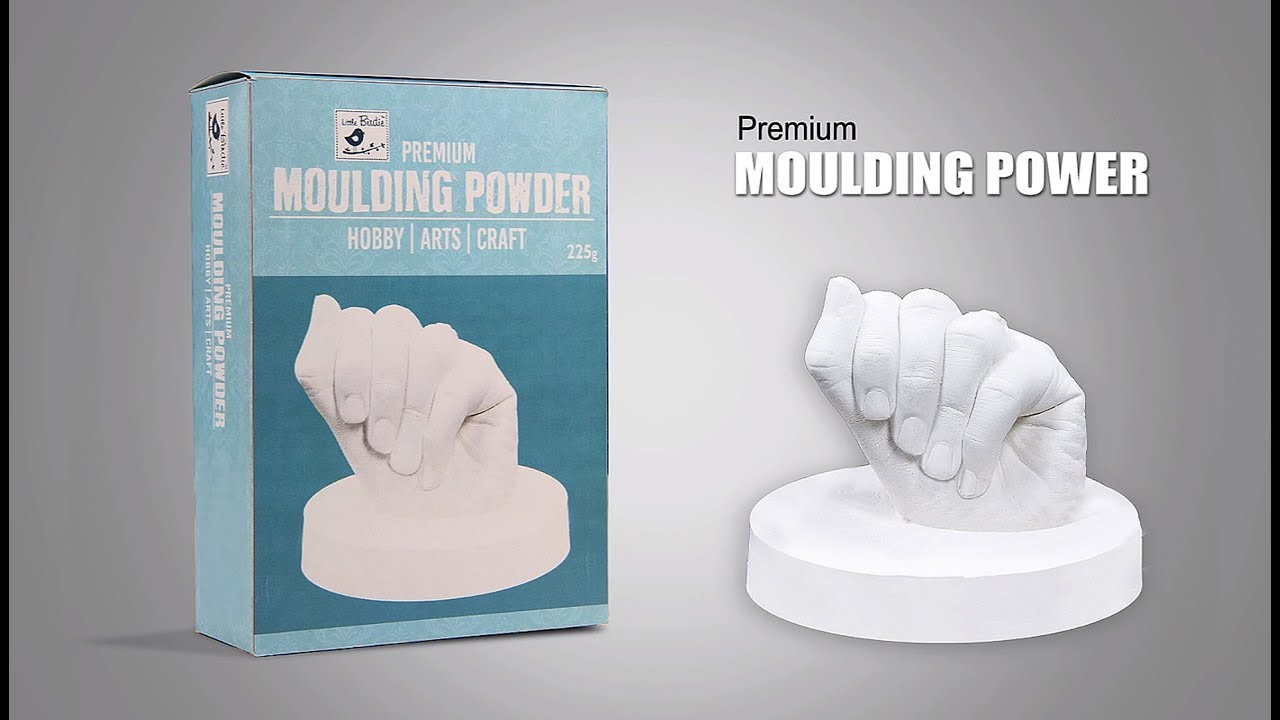 Creating a Hand Mould with Premium Moulding Powder