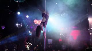 Дарья - Отчетный концерт Pole Dance в клубе