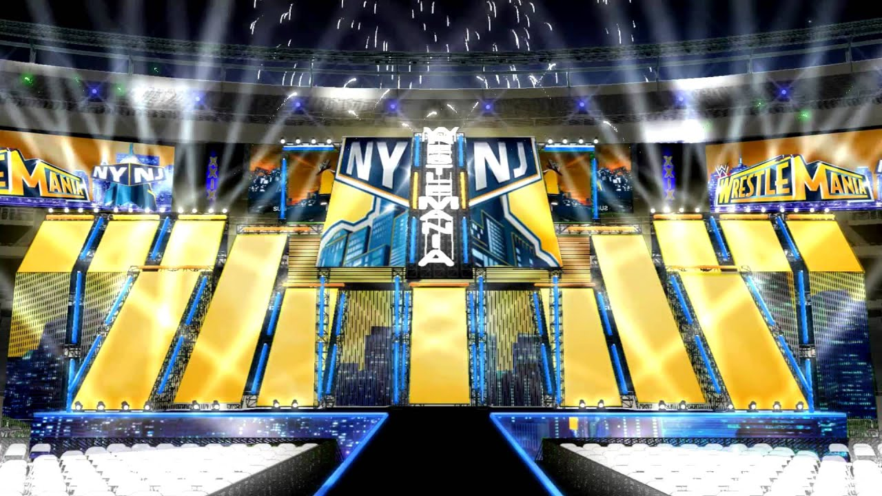 Wwe Wrestlemania 29 Opening Pyro Concept Animation 6