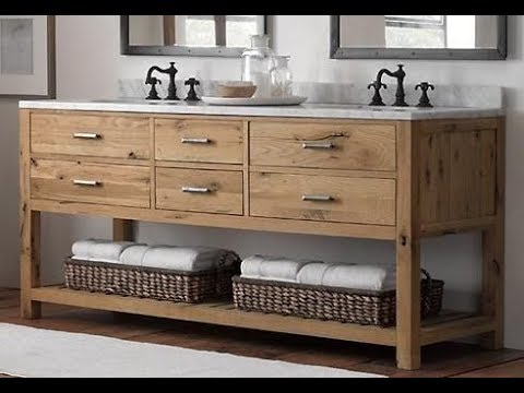 reclaimed wood bathroom vanity. Reclaimed Wood Bathroom Vanity  YouTube