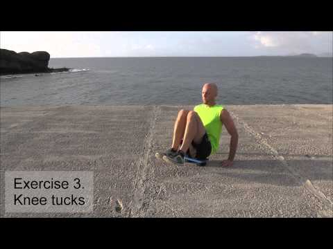 Upper and Lower Abs Workout With A Balance Board