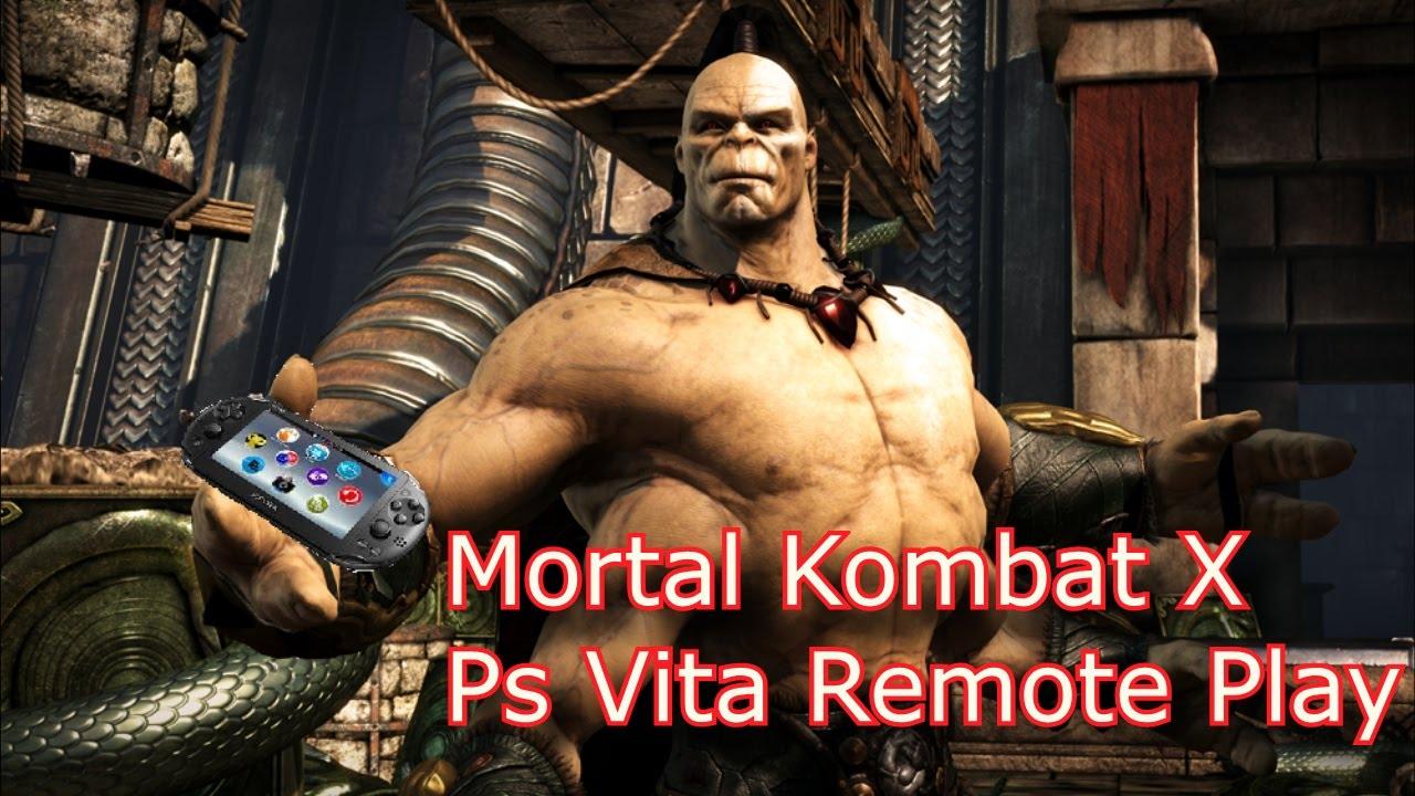 Mortal Kombat X Remote Play