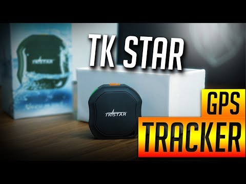 TK Star GPS tracker - unbox and review