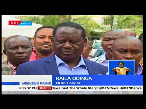 Raila Odinga sets the ball rolling on preparations for his swearing in: Weekend Prime