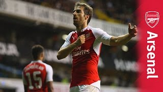 Tottenham 1 - 2 Arsenal | Flamini's Capital One Cup stunner