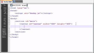 HTML5 Tutorial - 35 - The Canvas Element