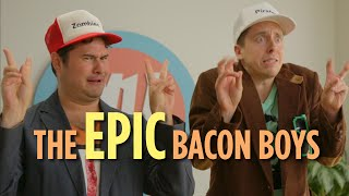 The Epic Bacon Boys: Internet Popularity Consultants (Hardly Working)