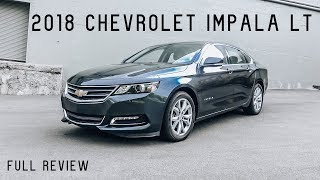2018 Chevy Impala LT | Full Review & Test Drive