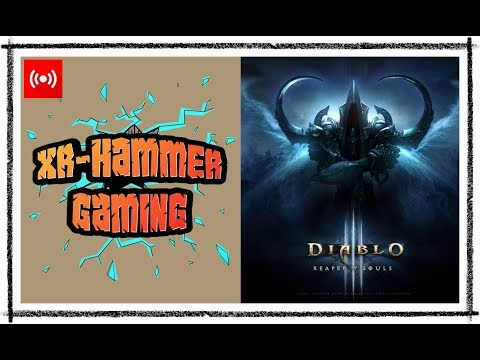 Livestream | Diablo 3 - Gaming With My Girlfriend #3