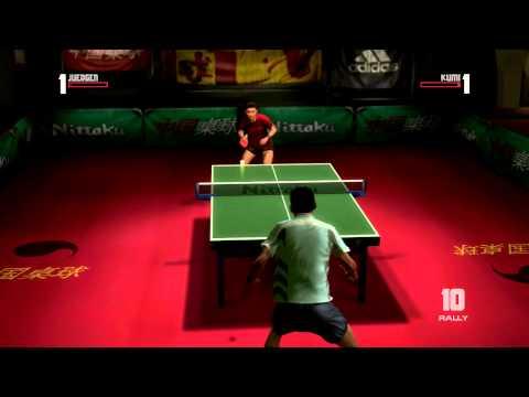Jogo Rockstar Xbox 360 Table Tennis - Jogo de Pingue Pongue para Videogame