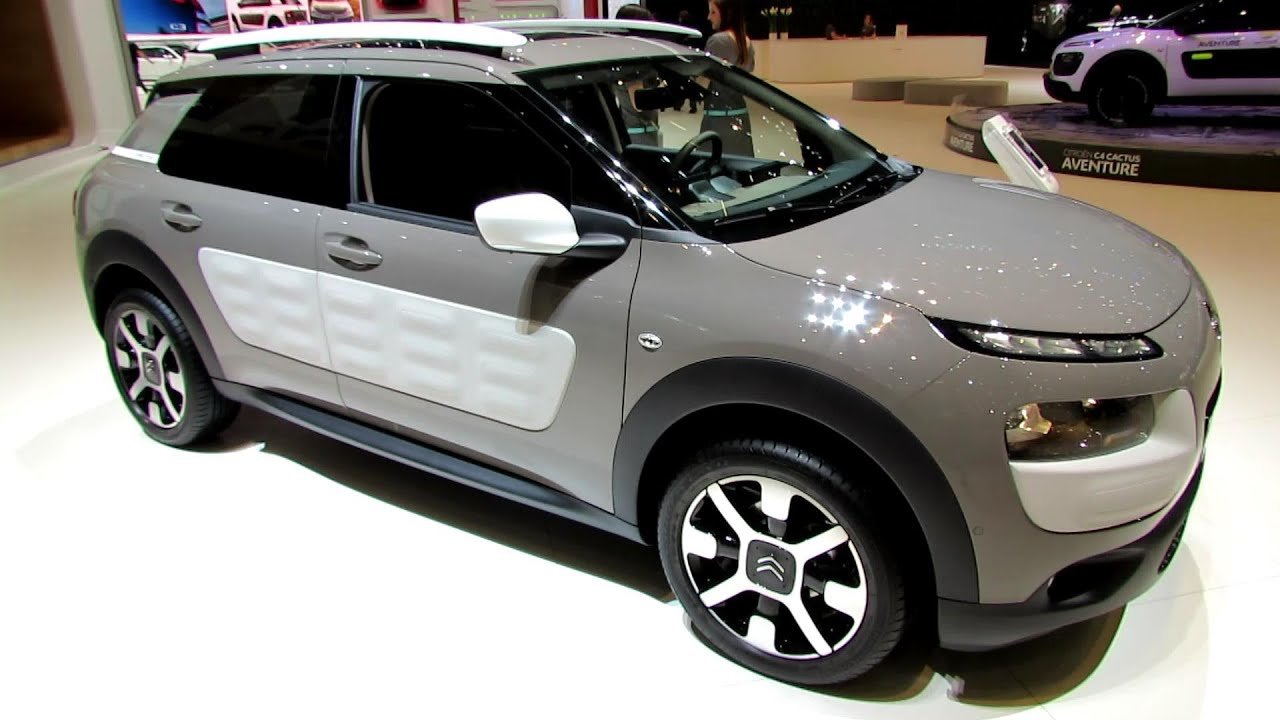2015 citroen c4 cactus exterior and interior walkaround debut at 2014 geneva motor show. Black Bedroom Furniture Sets. Home Design Ideas