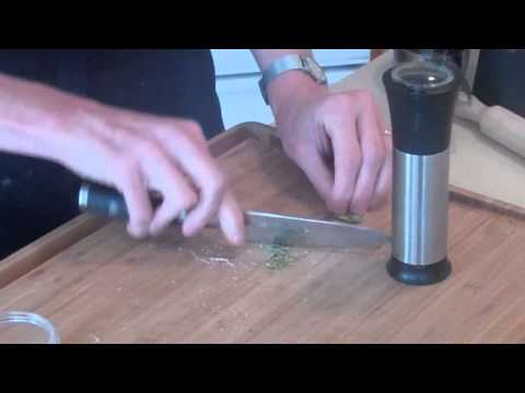 Pumpkin Ravioli Part 1 GEFU Pasta Machine Gourmet Kitchenworks.mp4